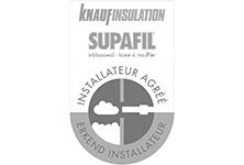 Knauf Supafil erkend installateur