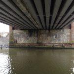 Renovatie spoorwegbrug over de Leie te Drongen