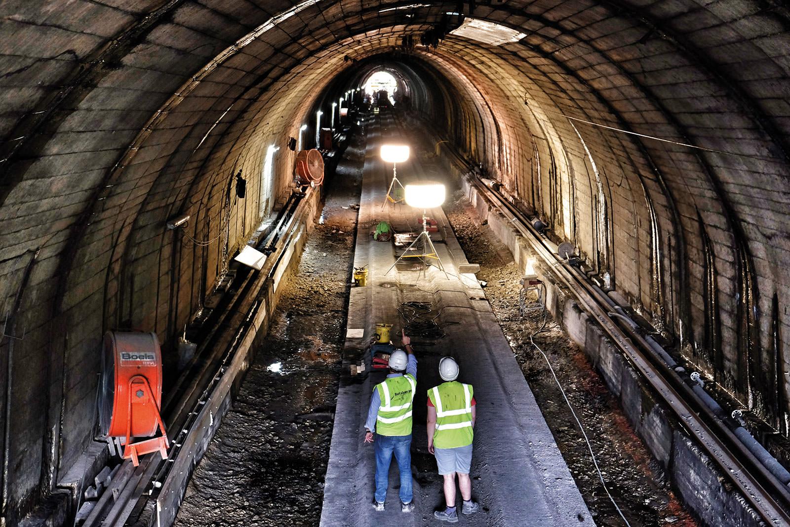 Tunnelrenovatie