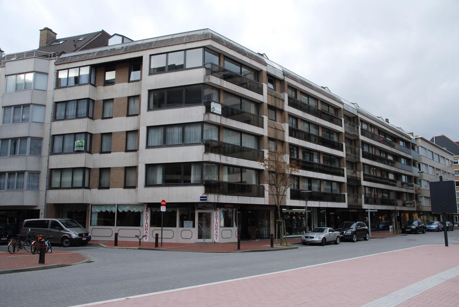 Gevelrenovatiewerken Residentie Mayfair Knokke